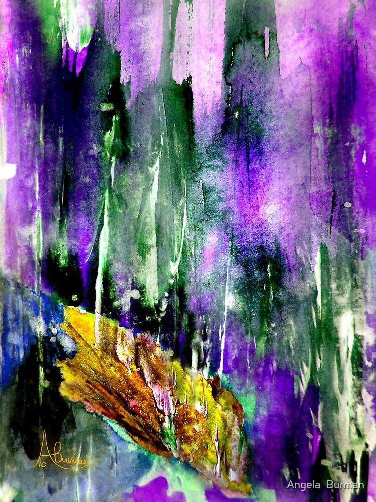 Autumn's Last Leaf by Angela  Burman
