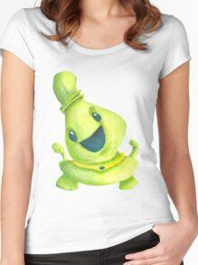 Cute Alien Women's Fitted Scoop T-Shirt