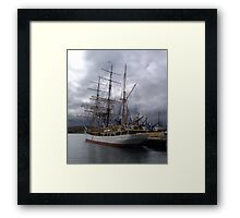Picton Castle-Lunenburg Framed Print