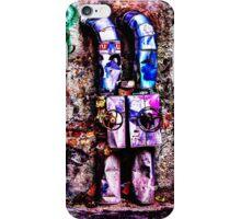 Abandoned Wall Fine Art Print iPhone Case/Skin