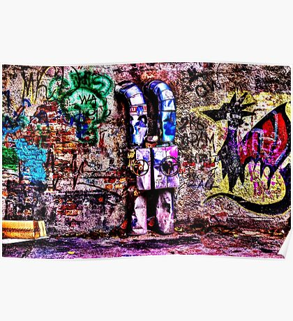 Abandoned Wall Fine Art Print Poster