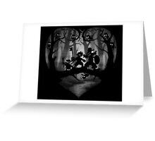 Heart of Darkness Greeting Card