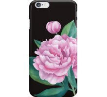 Watercolor Peony Bouquet iPhone Case/Skin