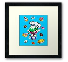 Let's get cooking! Framed Print