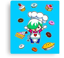 Let's get cooking! Canvas Print