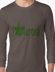 I Love Aurora Long Sleeve T-Shirt
