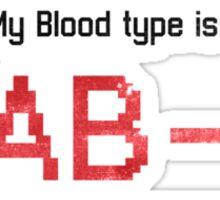 Fix Me - AB Negative Sticker