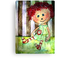 Sally Sunshine Canvas Print