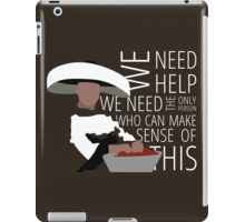 We Need Giles iPad Case/Skin