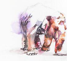 Elephant by Waterandcolors