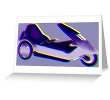 The Sinclair C5 Greeting Card
