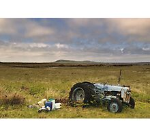 Islay: Tractor Photographic Print