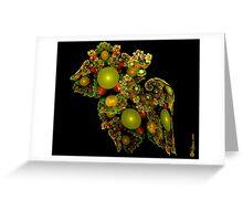 Christmas Juliascope Ornament Greeting Card