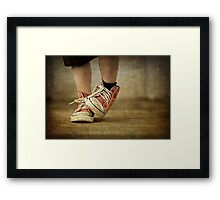 Hand Me Downs Framed Print