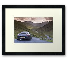 Porsche 911 Lake District Framed Print