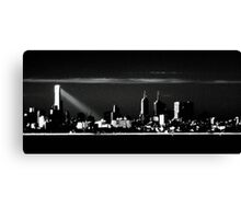Melbourne at Dusk Canvas Print