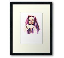 iPhone Framed Print