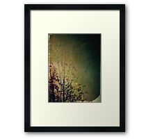 Lingering reverie Framed Print