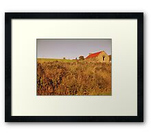 Rural Irish cabin Framed Print