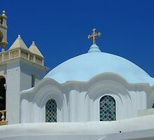 Dome of Panagia Evangelistria (Our Lady) of Tinos church by Themis