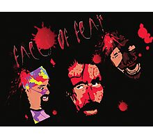 The 3Faces of Fear Photographic Print