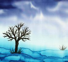 Landscape in Blue  by Caroline  Lembke