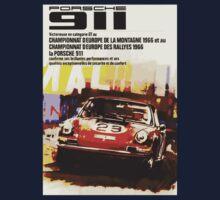 Vintage Racing Porsche 911 Kids Clothes