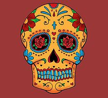 Skull Mexican by borines