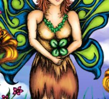 Luck of the Tiger Lily Fairy Sticker
