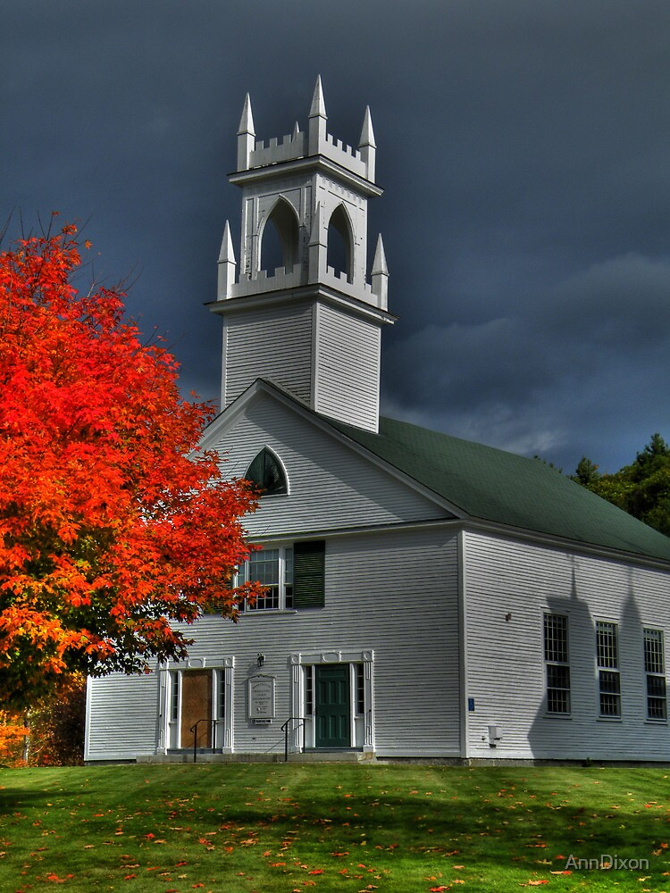 New Hampshire in the Fall by AnnDixon