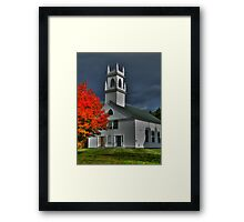 New Hampshire in the Fall Framed Print