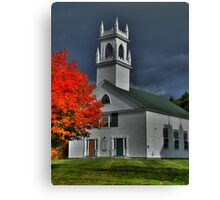 New Hampshire in the Fall Canvas Print
