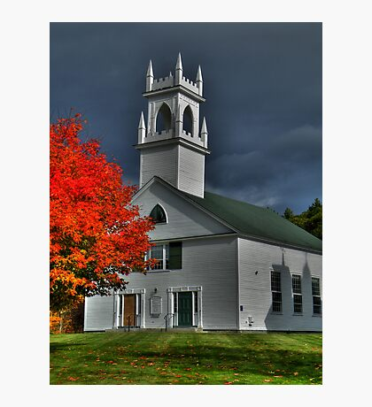 New Hampshire in the Fall Photographic Print