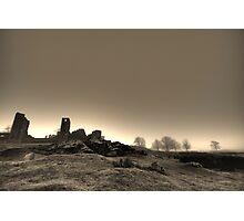 Misty Ruin Photographic Print