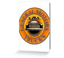 Vintage GMC Logo Greeting Card