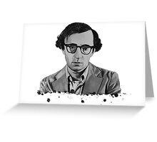 Woody Allen Greeting Card