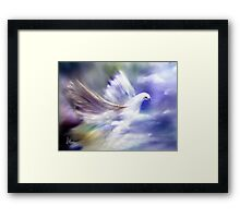 And When I Turned Towards The Light  Framed Print
