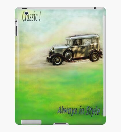 Classic ( in colors with transparency ) iPad Case/Skin