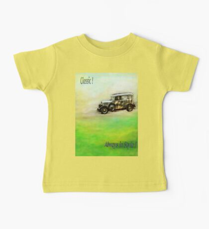 Classic ( in colors with transparency ) Baby Tee