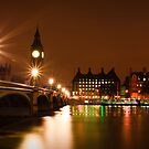 Westminster Bridge Over The Thames by Mike Weeks