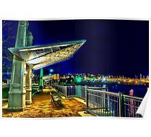 Date Night- Piers Park,East Boston Poster