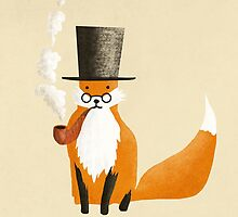 Fancy Fox by Eric Fan