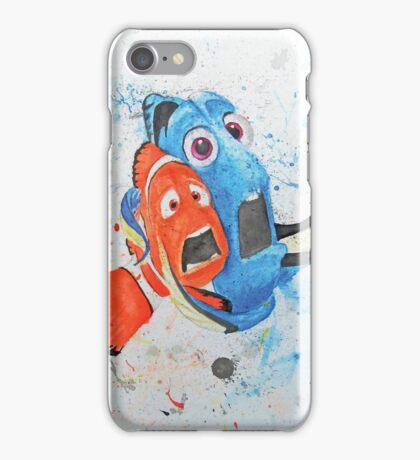 Don't Tap on the Glass; It Scares the Fish iPhone Case/Skin