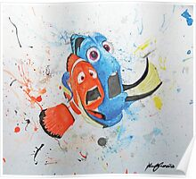 Don't Tap on the Glass; It Scares the Fish Poster