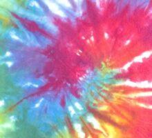 Tie-Dye Fade Sticker