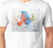 Don't Tap on the Glass; It Scares the Fish Unisex T-Shirt