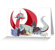 Dragon Holiday Greeting Card