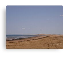 Desolate Beach - Brackley Beach, PEI Canada  Canvas Print