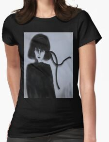 The Black Ribbon Womens Fitted T-Shirt