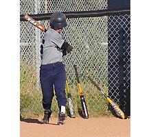 Swing Batter, Batter Photographic Print